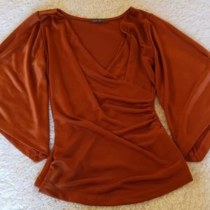 Bell 3/4 sleeve blouse